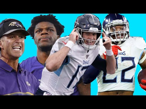 Titans UPSET The Ravens! They Are LEGIT! The Ravens CHOKED! Derrick Henry Best Running Back In NFL??