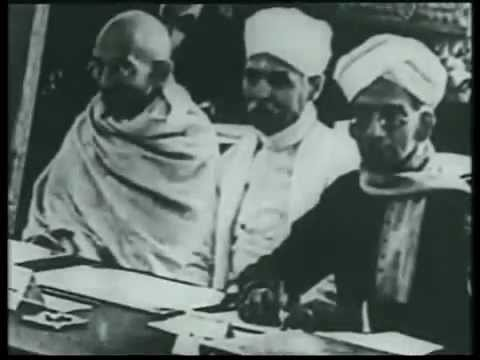 Gandhi's travel to London