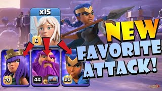 THIS IS AMAZING! 15 Healer?! TH13 Triple Royal Charge Attack Strategy! Best TH13 Attack Strategies