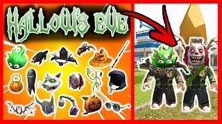 FREE ALL THESE HALLOW'S EVE EVENT OBJECTS - Roblox