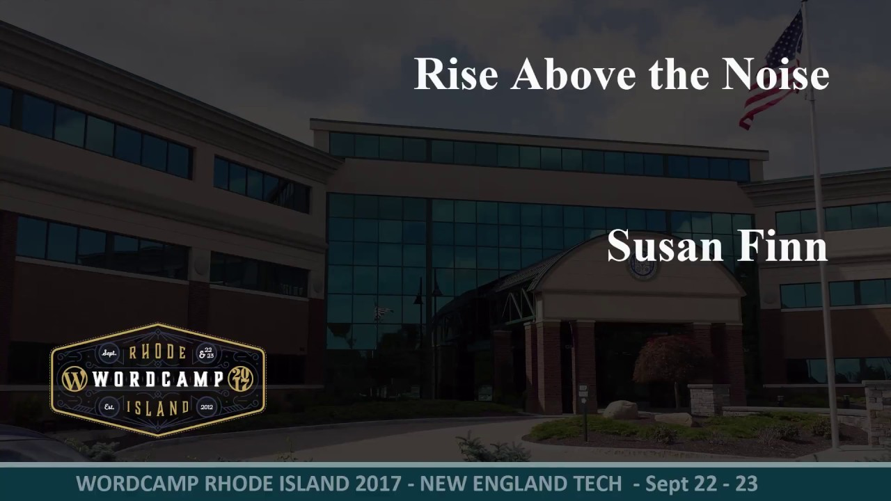 2017 WCRI - Rise Above the Noise
