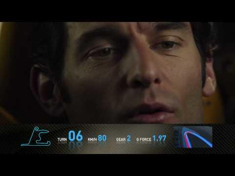 F1 Track Simulator  Mark Webber at Shanghai