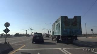 省道 台61甲 台61 快速公路 八里 - 台南 路程景 部分路段 銜接 台17線 台1線