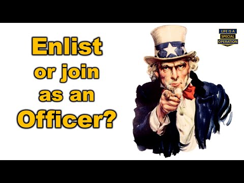 Should I Enlist in the Military or Join as an Officer?