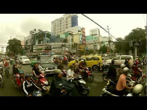 The Art of Crossing the Streets in Vietnam