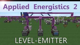 Applied Energistics 2 Tutorial: LEVEL-Emitter - 1 version is always working! [ENG]