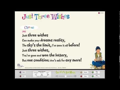 Just Three Wishes [Aladdin Trouble] - Words on Screen™ Original
