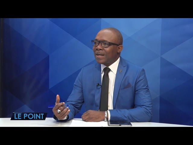 LE POINT : Wendell THEODORE reçoit Pere Loudeger Mazile. (04/12/2019)