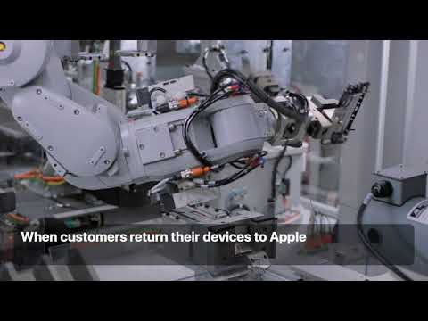 Apple introduces Daisy, a new robot that disassembles iPhone to recover valuable materials
