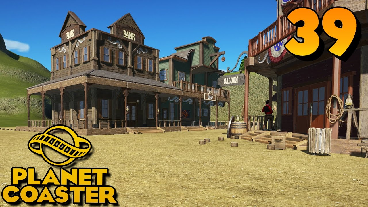 Western bank planet coaster 39 zanderlp youtube for Plante western