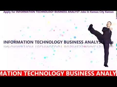 ResumeSanta.com: Apply for INFORMATION TECHNOLOGY BUSINESS ANALYST Jobs In Kansas City Kansas
