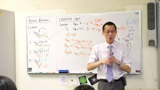 Logarithm Laws (1 of 3: Adding logarithms)