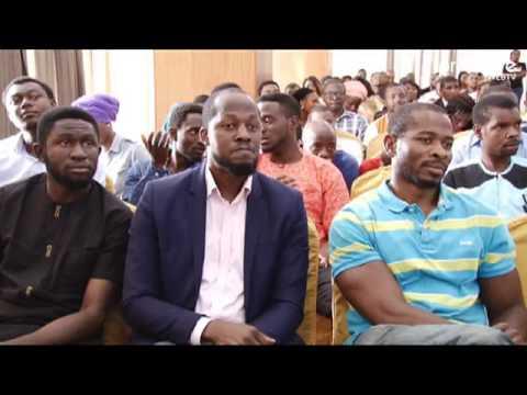 Nike Ogunlesi inspires young Nigerian entrepreneurs