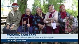 В Мариуполь прибыла 305 колонна гуманитарного рейса Рината Ахметова
