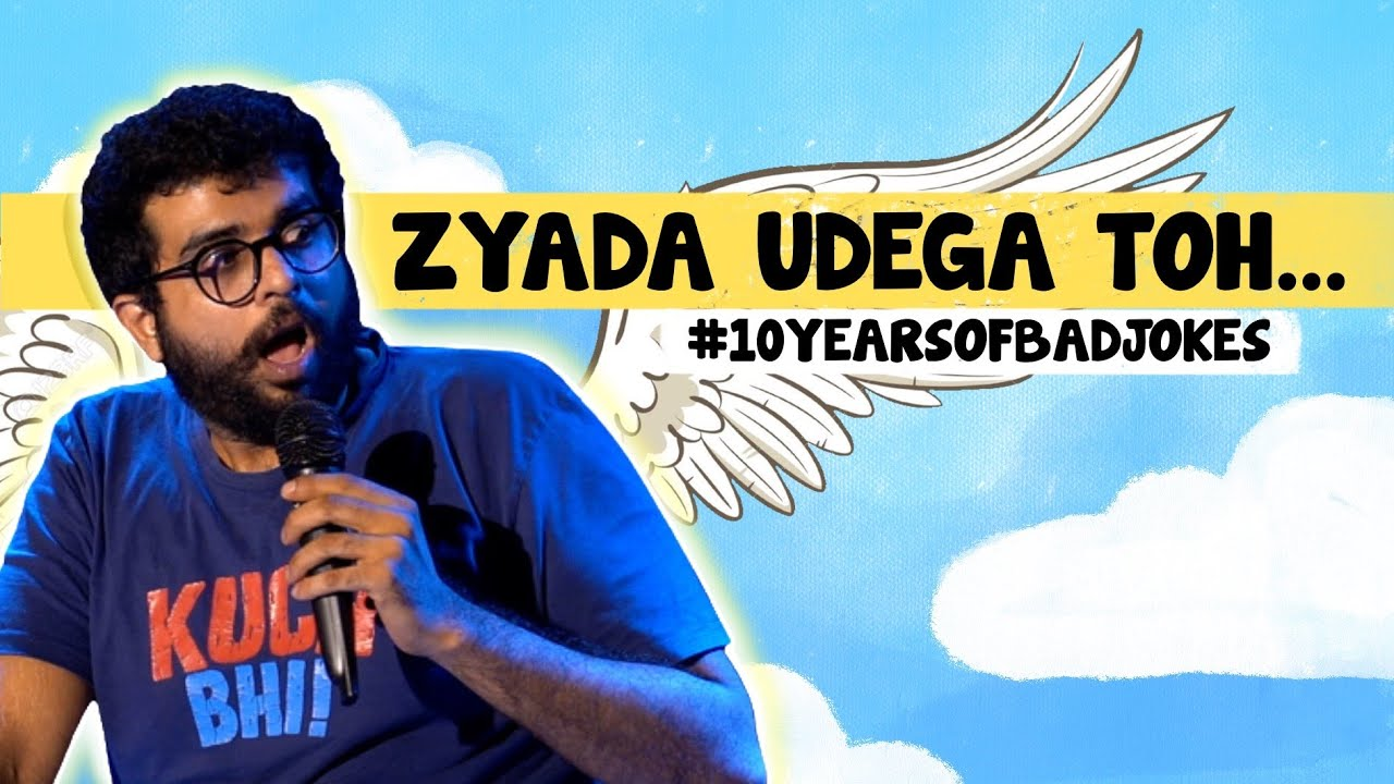 Icarus   Stand up Comedy by Aakash Mehta   #10yearsofbadjokes