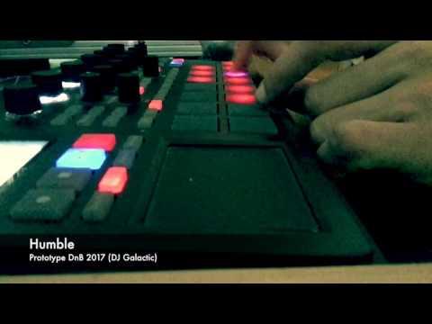 """Korg Electribe Sampler - DnB jam """"Humble"""" - DJ Galactic"""