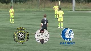 Nat. Elite U16 - Sporting Lokeren - K. AA. Gent - Uitslag 2-1