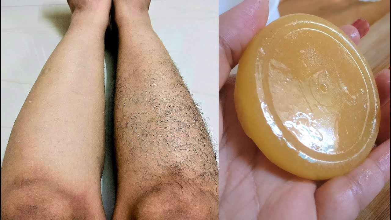 Homemade Hair Removal Soap Youtube