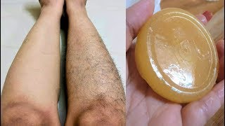 Homemade Hair Removal Soap