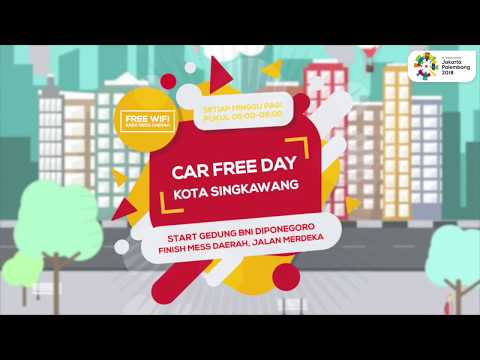 Singkawang Car Free Day 2018