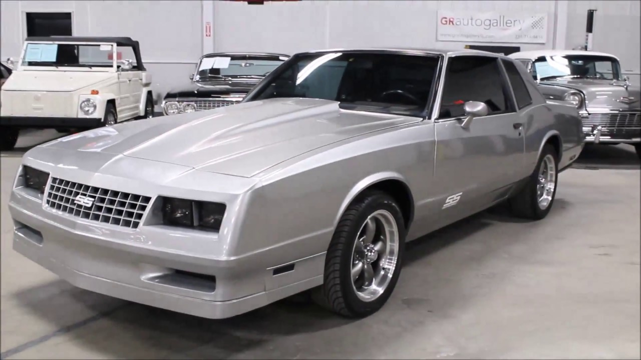 1985 Chevy Monte Carlo SS  YouTube