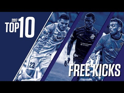 2017 USL Top 10: Free Kicks