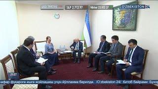 «Amnesty International» делегация Олий суд ва Ташқи ишлар вазирлигида