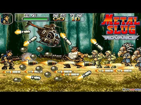 Metal Slug Advance (GBA) ARCADE - Hack Ultra Remix Plus Longplay