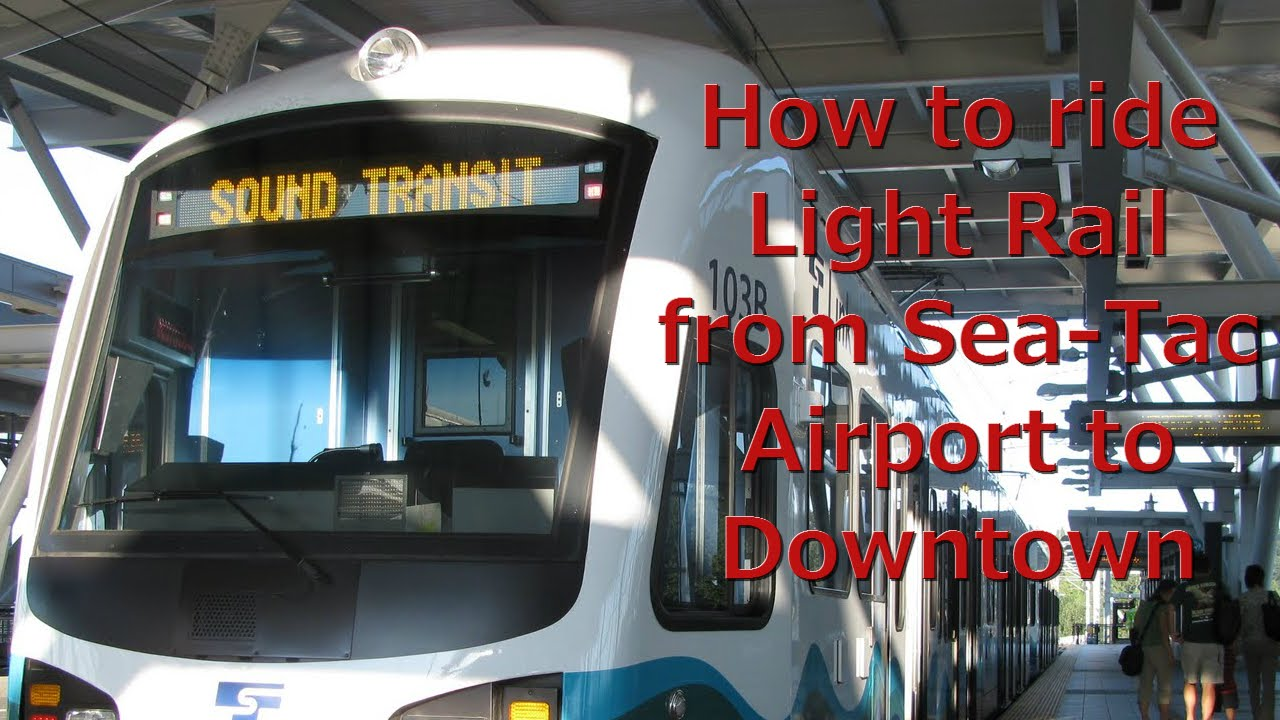 How To Take the Seattle Light Rail from the Airport to Downtown Seattle Light Rail Map Airport To Downtown on link light rail seattle airport, light rail tacoma to seattle, light rail transportation, light rails seattle schedules, light rail map,