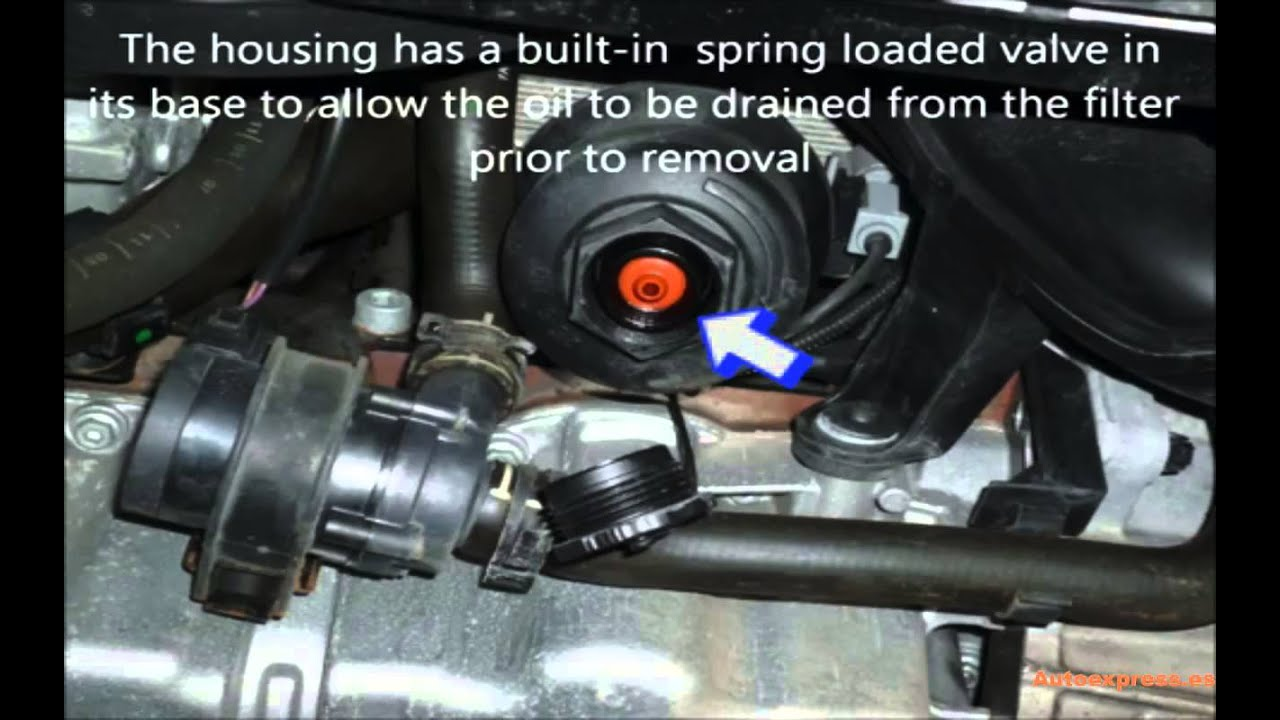 Adaptador de drenaje de filtro de aceite motores Vag 2 0