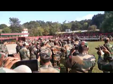 Indian Army Dance In Santhali Song