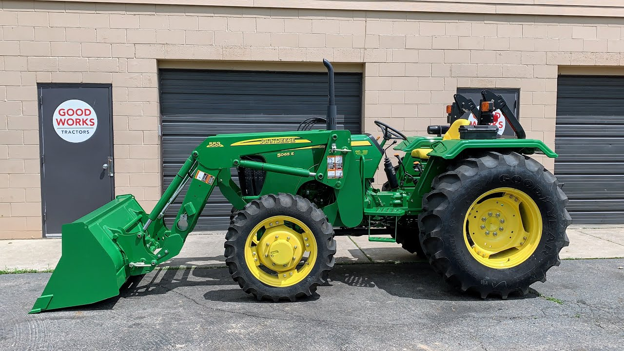 This is not to say that it is an easy thing to do, but if one is willing to spend a little time looking, one can find these tractors online with excellent quality at low prices. Barn Find 9 Year Old Tractor Only 23 Hours John Deere 5065e Youtube