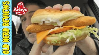 Arby's King's Hawaiian Fish Deluxe Sandwich REVIEW 🐟🍔