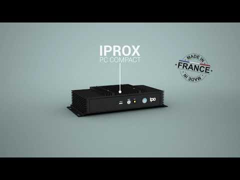 PC compact durci fanless : IPROX de IPO Technologie