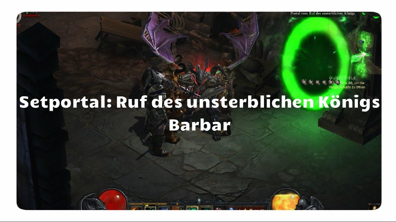 diablo 3 setportal barbar unsterblicher könig