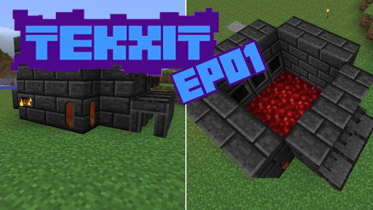 1] Tekxit 3 - Tinker's construct! - Minecraft Modat - YouTube