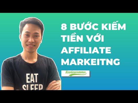 8 bước kiếm tiền với affiliate marketing hiệu quả