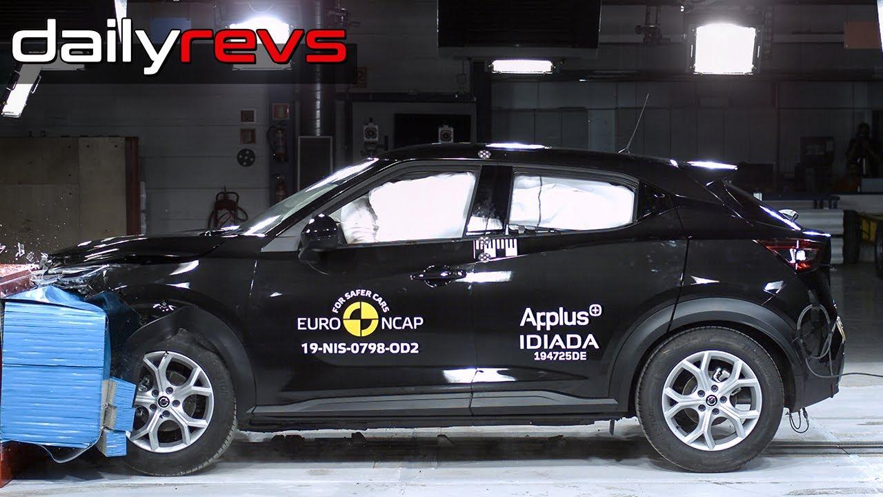 2020 Nissan Juke | Euro NCAP | ⭐⭐⭐⭐⭐ Stars | Crash Test