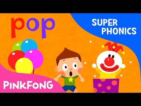 op | Pop! Hop! Bop! | Super Phonics | Pinkfong Songs for Children