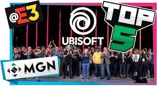 5 JUEGOS DE UBISOFT QUE MÁS NOS IMPRESIONARON EN E3 2018 | MGN