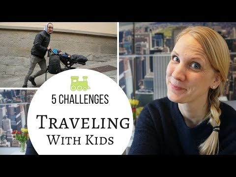 5 Challenges in Traveling with Kids, Todlers and Babies - My Personal Experience