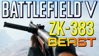 Battlefield 5: New ZK-383 Shreds Everybody! (Battlefield V Multiplayer Gameplay)