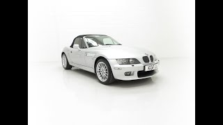 A Fanatic Owned BMW Z3 (E36/7) 3.0 Wide-Body Roadster with Just 41,041 Miles - £10,995