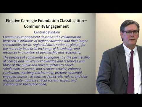 Achieving National Prominence through the Carnegie Classification 1