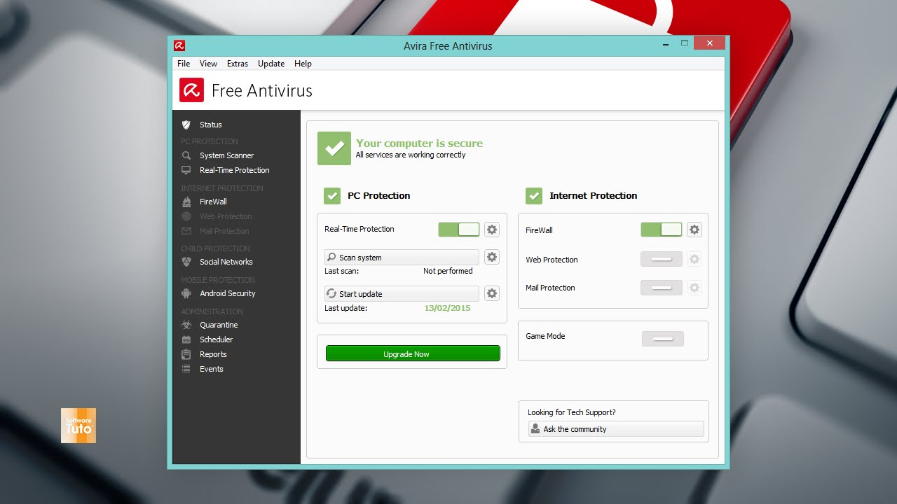 download free antivirus for pc avira