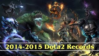 Dota 2 Records (2014 - 2015 Season)