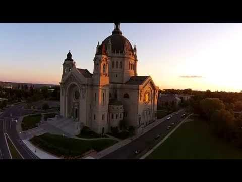 Saint Paul Cathedral Aerial Video