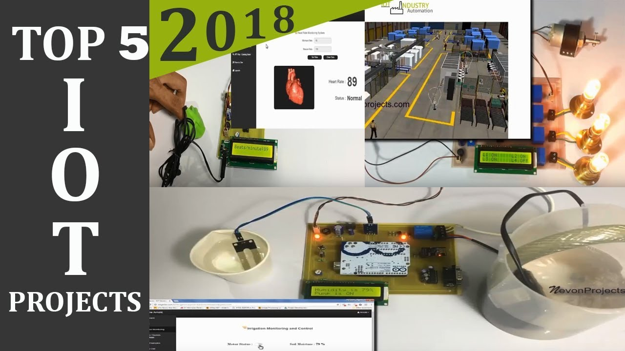 TOP 5 IOT Projects of 2018