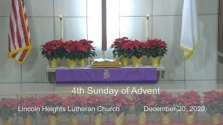 December 20, 2020 - Sunday Advent Worship