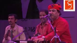 Kirtidan Gadhvi Lokdayro at Divya Bhaskar's Utsav in Ahmedabad.